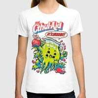 wicked T-shirts featuring CTHUL-AID by BeastWreck