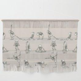 Skeleton Yoga Wall Hanging