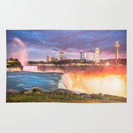 Niagara Falls: The Flow Aglow Rug