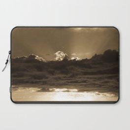 Sunset Soufriere (Sepia) Laptop Sleeve