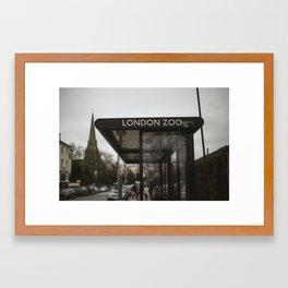 LDN ZOO Framed Art Print