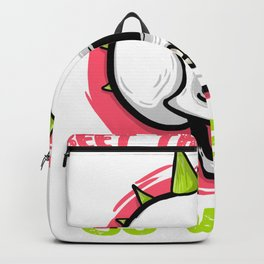 Beet the System Go Vegan Punkrock Backpack