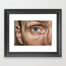 The Human Eye Framed Art Print