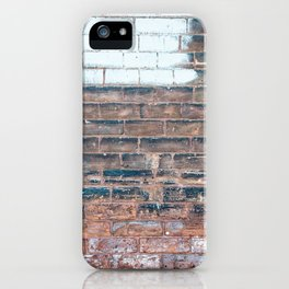 Painted Bricks iPhone Case