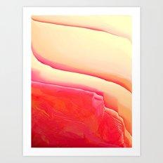 Strawberry Vanilla Art Print