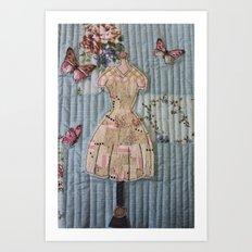 The Day Dress Art Print