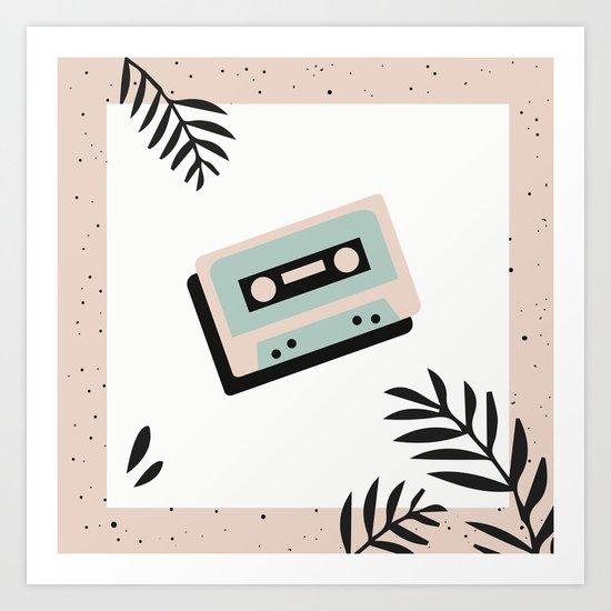 Jungle Mixtape Art Print