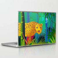 panther Laptop & iPad Skins featuring Panther by Nato Gomes