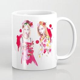 D&G Red Florals Coffee Mug