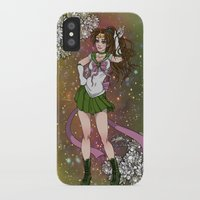 sailor jupiter iPhone & iPod Cases featuring Sailor Jupiter by Teo Hoble