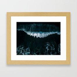 Wave in Motion - Ocean Photography Framed Art Print