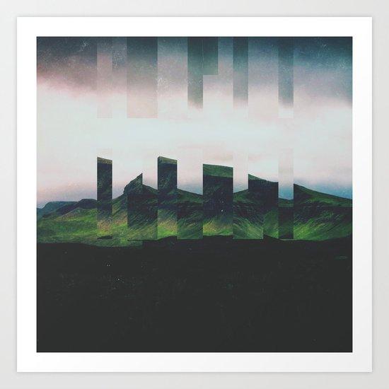 Fractions A49 Art Print