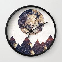 moon children Wall Clock