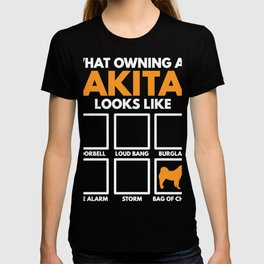 Akita Dog Mother Mom Poison T-Shirt T-shirt