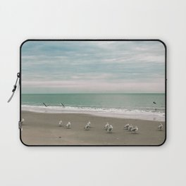 Square Photo Series - Outer Banks 2 - Photography Laptop Sleeve
