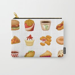 Pixel Junk Food Carry-All Pouch