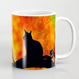 BLACK CAT HARVEST MOON 2018 Coffee Mug