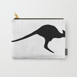 Silhouette Kangaroo Carry-All Pouch
