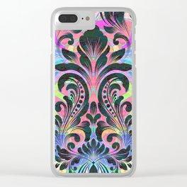 Boujee Boho Fleur Clear iPhone Case