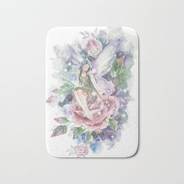 Floral Fairy Bath Mat