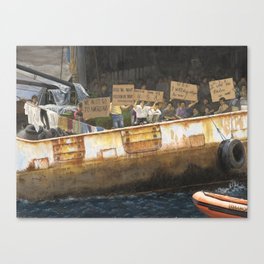 Freedom We Want Canvas Print