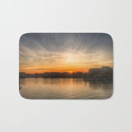 Sunset Over Bay II Bath Mat
