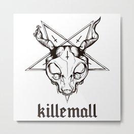 GATODELMAL Metal Print