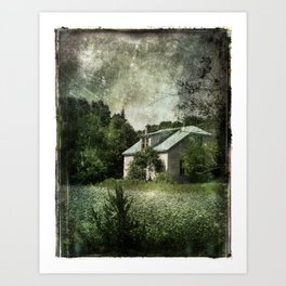 The Cloverfield House Art Print