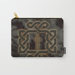 Decorative celtic knot, vintage design Carry-All Pouch