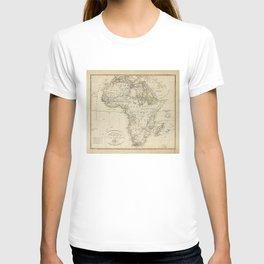Map of Africa (1804) T-shirt