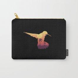 Hummingbird Bird Nature Carry-All Pouch