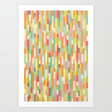 City by the Bay, Street Fair Art Print