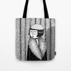 She thought of her cats and wished she was home Tote Bag
