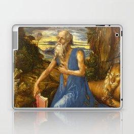 Saint Jerome in the Wilderness by Albrecht Dürer Laptop & iPad Skin