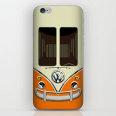 Special Gift for Summer Holiday orange minivan minibus iPhone 4 4s 5 5c 6, pillow case and mugs iPhone & iPod Skin