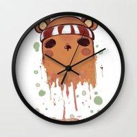 prague Wall Clocks featuring Prague. by Michaëlis Moshe