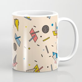 Memphis Inspired Pattern 9 Coffee Mug