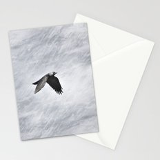 The crow. Halloween dreams Stationery Cards