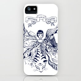 Mother of Fuckers iPhone Case