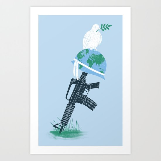 'Peace Within' Art Print