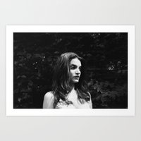 what do you see Art Print