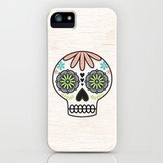 Sugar Skull Slim Case iPhone (5, 5s)