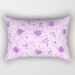 Sugar Spiders Rectangular Pillow
