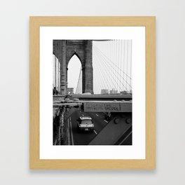 Follow the Bridge Framed Art Print
