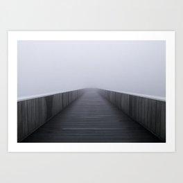 """Fog in the bridge"" Art Print"