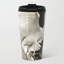 White bird dance 3 Travel Mug