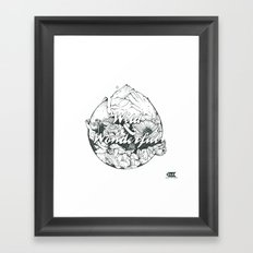 wild & wonderful Framed Art Print
