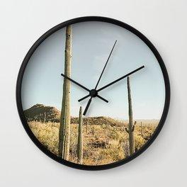 Spirit of the Desert Wall Clock