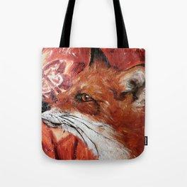 Fox Work in Progress Tote Bag