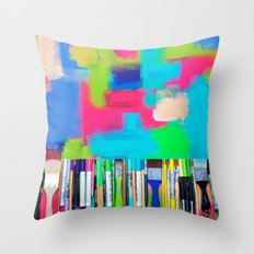 Real Weapons Of Mass Creation Throw Pillow